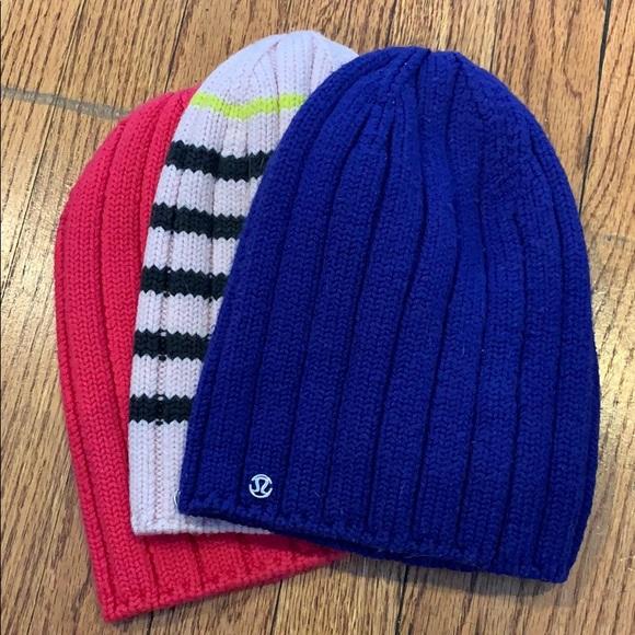 e62bd140046 lululemon athletica Accessories - Blue lululemon winter hat